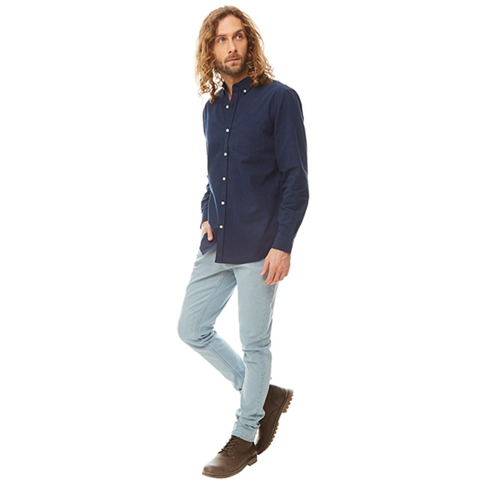 Camisa-Minicheck-Vichy-Azul-Azul-Marino-PV19-Talla-S-PV19-1