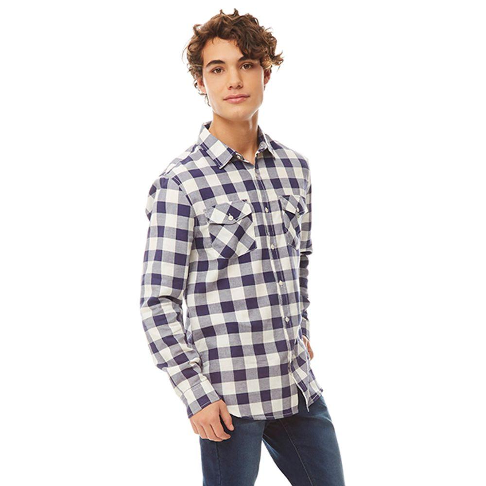 Camisa-Cuadro-Azul-Blanco-PV19-Talla-S-PV19-1
