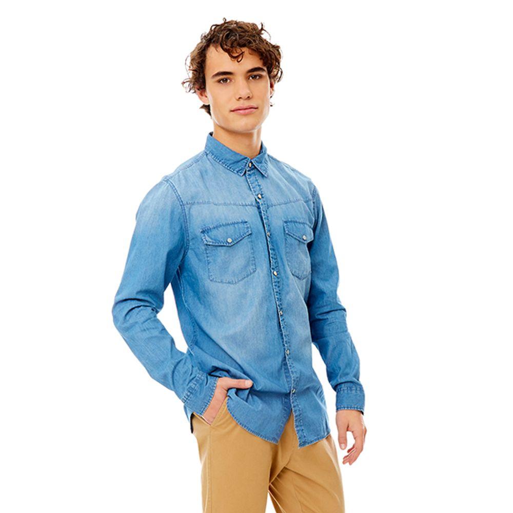 Camisa-Denim-SNAP-Azul-PV19-Talla-S-PV19-1