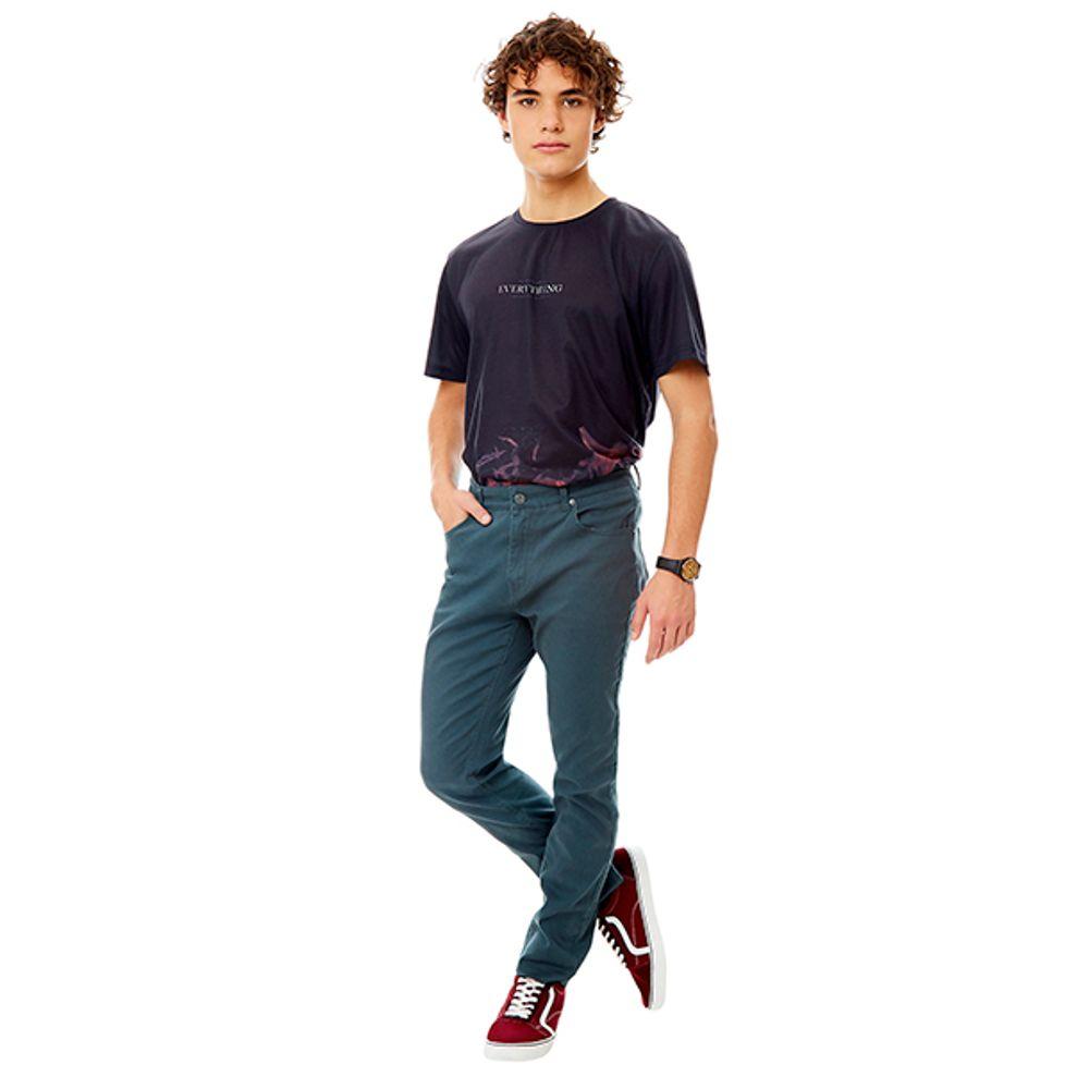 Pantalon-5-Pocket-Verde-Botella-PV19-Talla-40-PV19-1