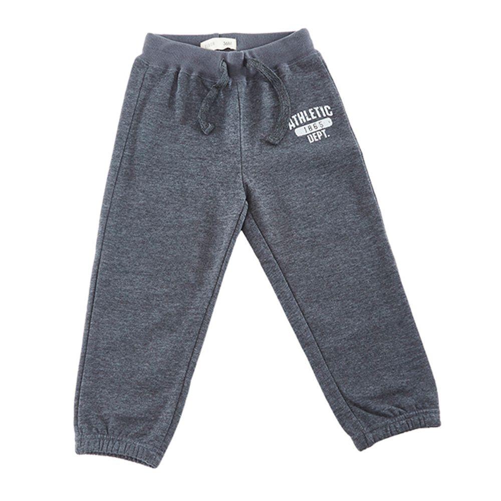 Pantalon-Buzo-Print-Gris-Oscuro-Melange-PV19-Talla-6M-PV19-1