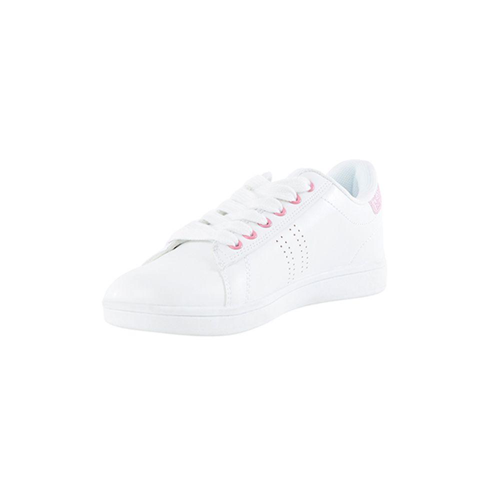 Zapatilla-Niña-PU-Blanca-Lace-Teen-Blanco-Rodado-PV19-Talla-30-PV19-1