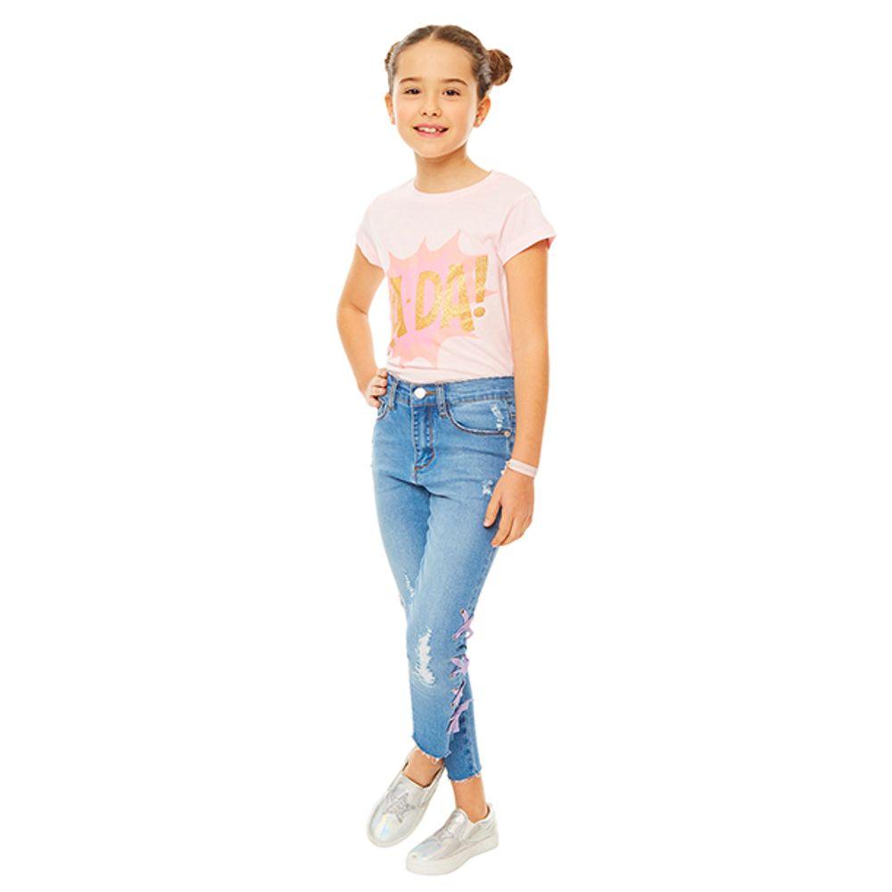 Jeans-Lace-UP-Niña-Denim---200-PV19-Talla-4-PV19-1