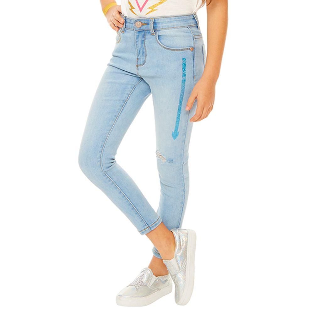 Jeans-Flechas-Niña-LT.-Denim---204-PV19-Talla-4-PV19-1