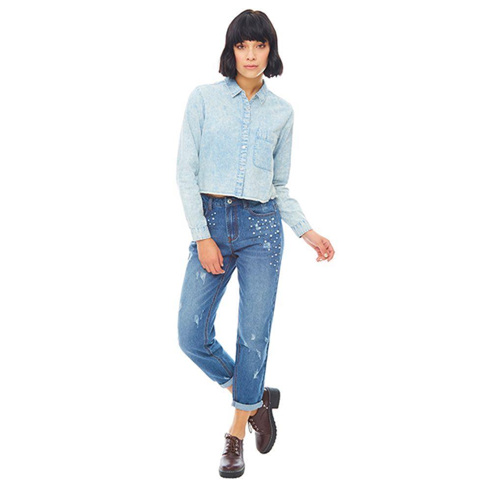 Jeans-Boyfriend-Perlas-Azul-Medio-PV19-Talla-38-PV19-1