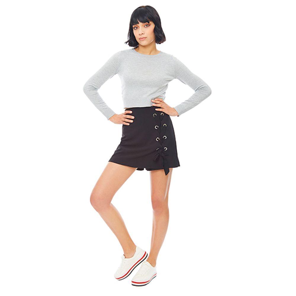 Short-Ojetillos-Lace-UP-Negro-PV19-Talla-XS-PV19-1