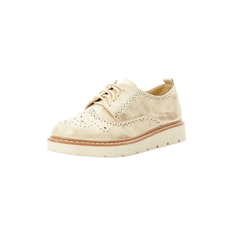 Zapato-Blucher-Brogue-Dorado-PV19-Talla-35-PV19-1