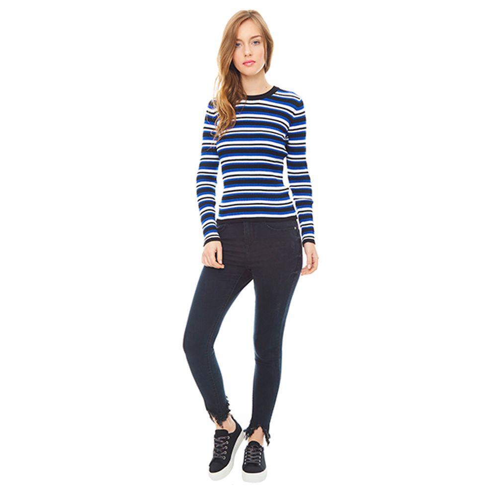 Pantalon-Regular-Waist-Mascado-Negro-PV19-Talla-36-PV19-1