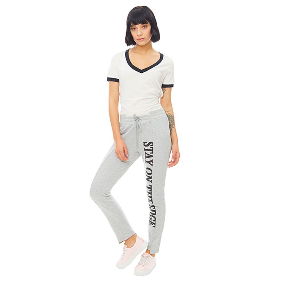 Jogger-Mujer-Lettering-Gris-Melange-PV19-Talla-XS-PV19-1