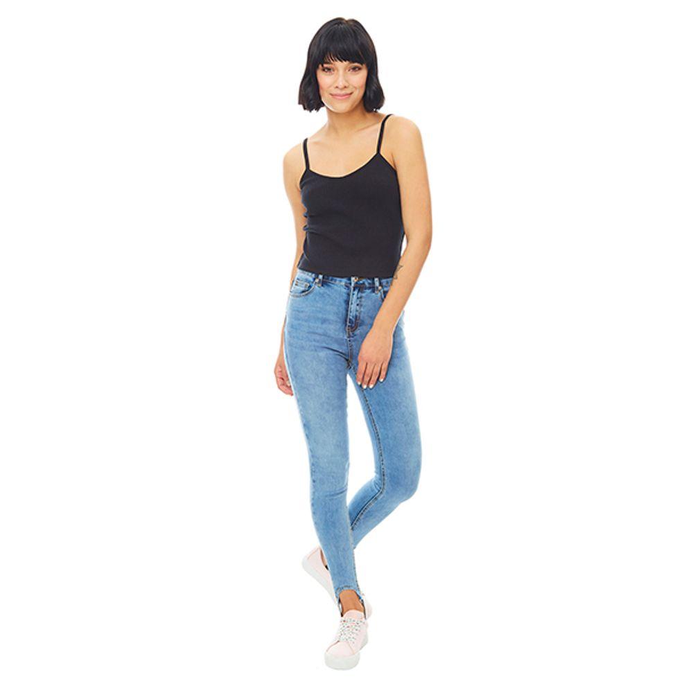 Jeans-High-Rise-Elastico-Pie-Azul-Claro-PV19-Talla-36-PV19-1