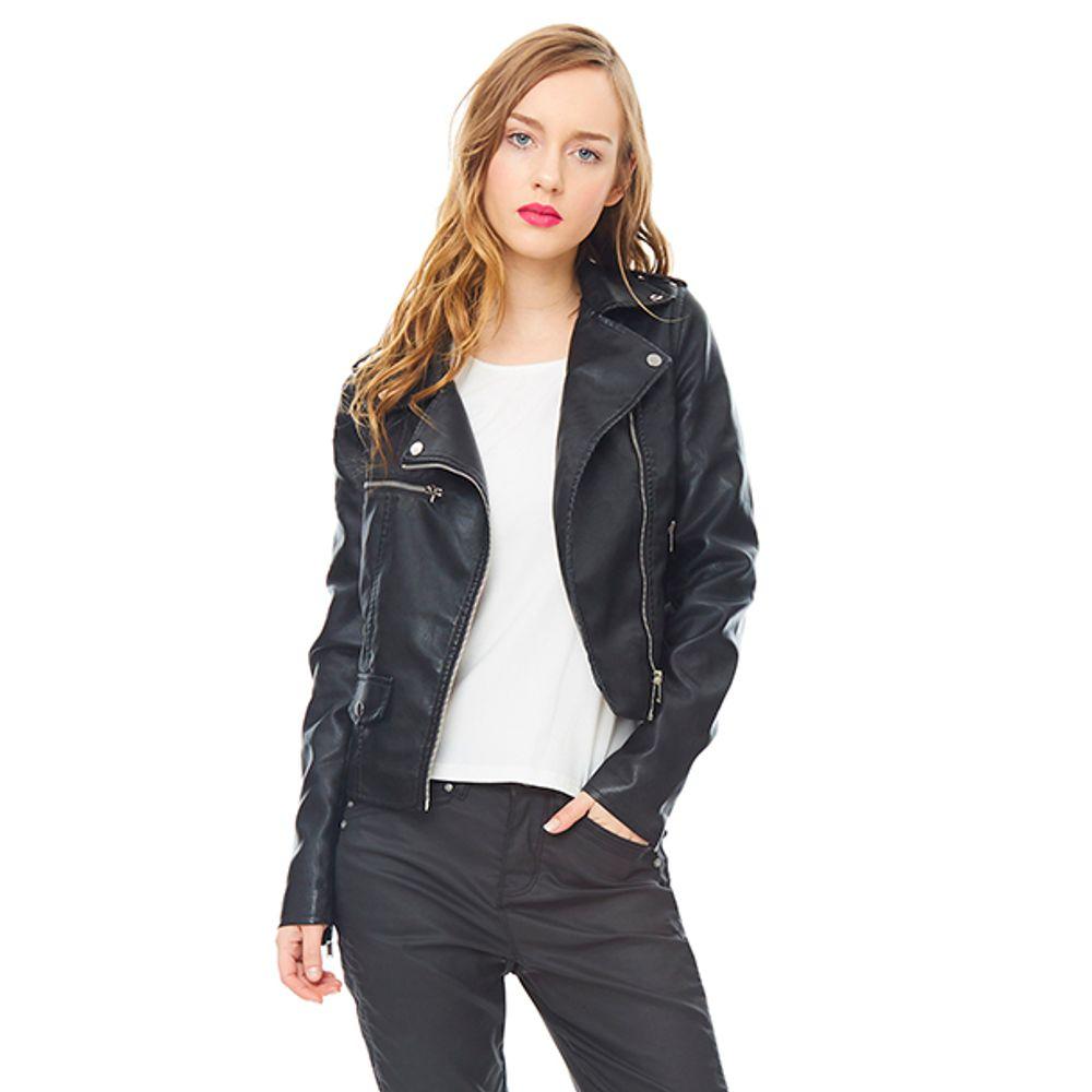 Casaca-Mujer-Biker-PU-Negro-PV19-Talla-S-PV19-1