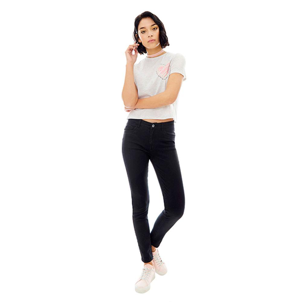 Jeans-Color-5-Bolsillos-Push-UP-Negro-PV19-Talla-36-PV19-1