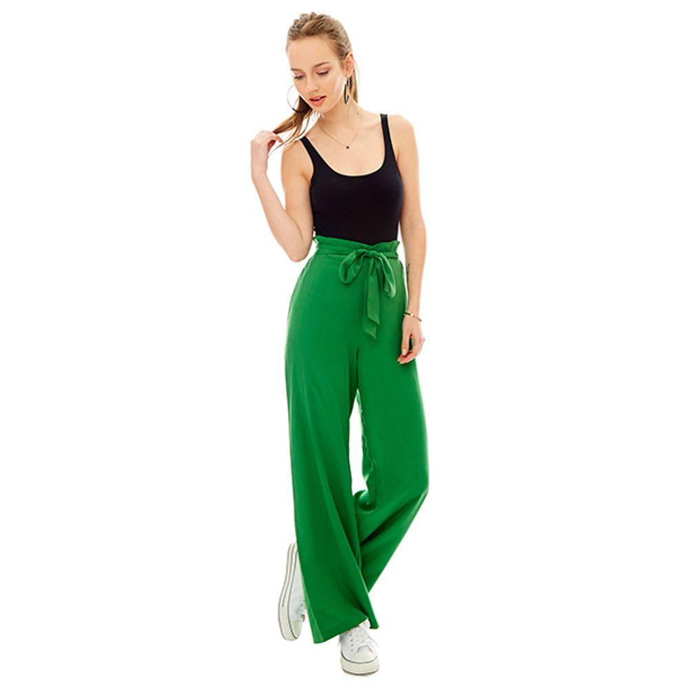 Pantalon-Palazzo-Cinturon-Verde-PV19-Talla-XS-PV19-1
