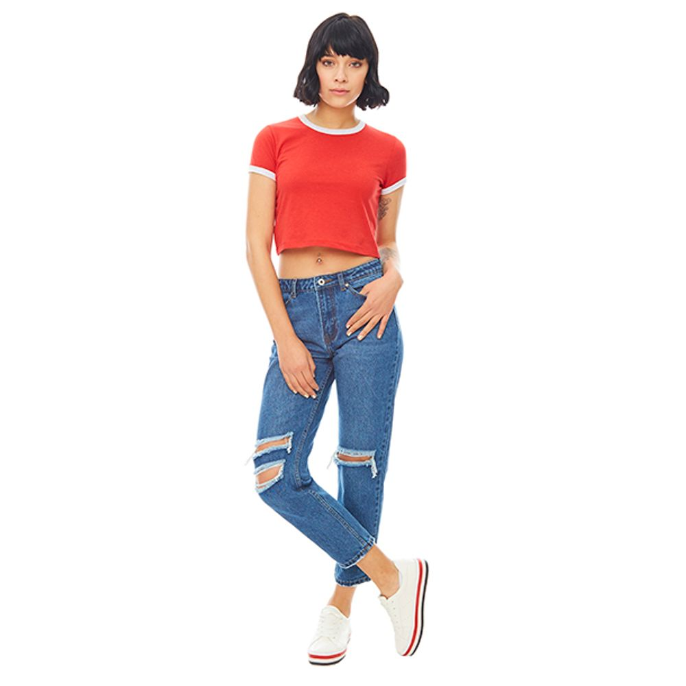 Jeans-Straight-Crop-Destroyed-Azul-PV19-Talla-36-PV19-1