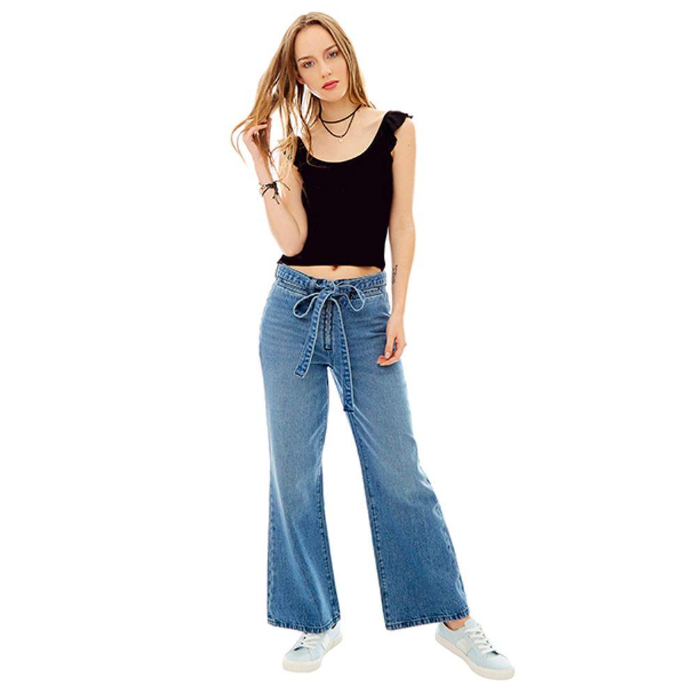 Jeans-Wide-Leg-High-Rise-Cinturon-Azul-PV19-Talla-36-PV19-1