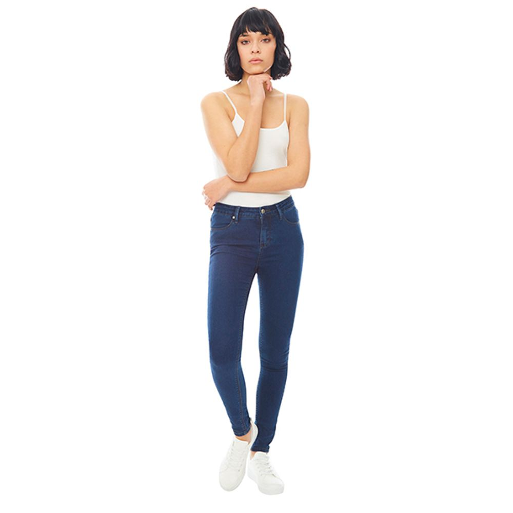 Jeans-Basico-5-Pocket-Skinny-Azul-Oscuro-PV19-Talla-42-PV19-1