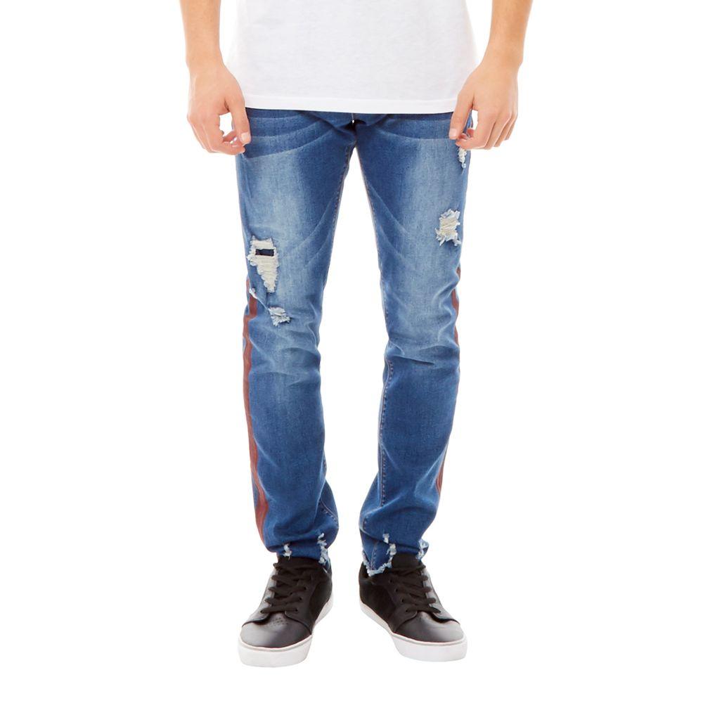 Jeans Super Skinny Azul Hombre - Corona