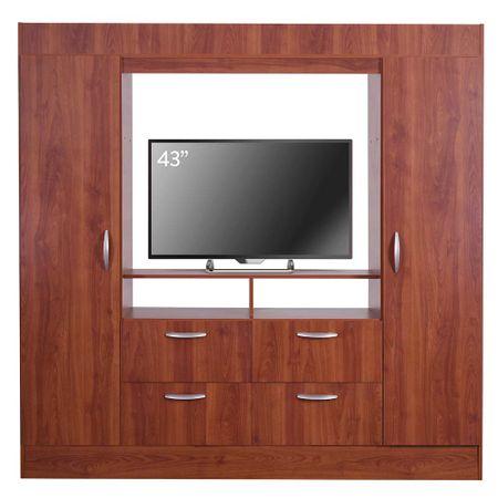 closet-cic-baker-tv-43-2-puertas-4-cajones-cerezo