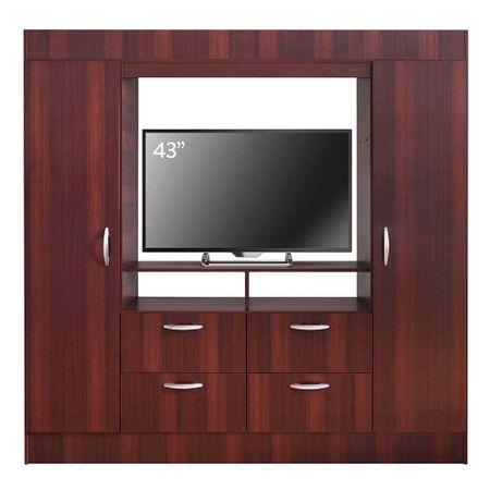 closet-cic-baker-tv-43-2-puertas-4-cajones-chocolate