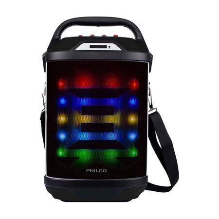 parlante-karaoke--bluetooth-led-885-negro-philco
