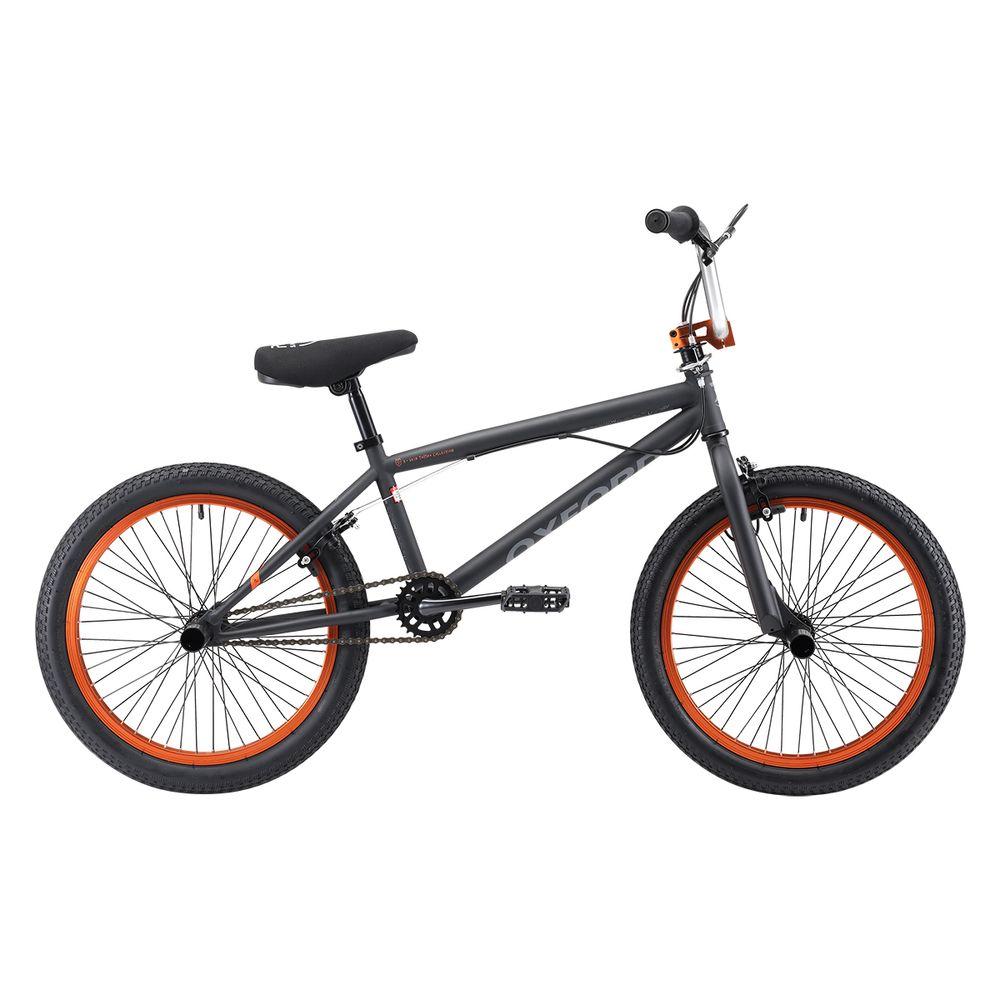 44e53e416 Bicicleta Oxford Aro 20 SPINE 1V NEGRO NARANJA - Corona