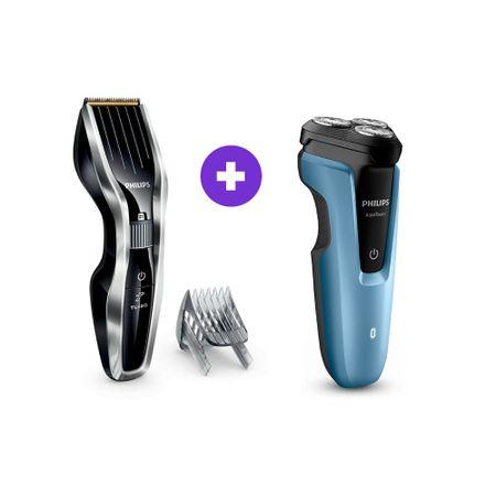 combo-afeitadora-s1070-corta-pelo-hc5450