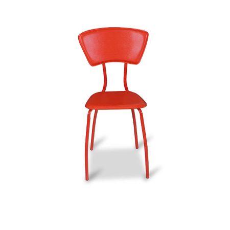 juego-4-sillas-asia-pu-roja