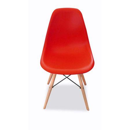 juego-idetex-4-sillas-nordica-patas-maderapvc-roja