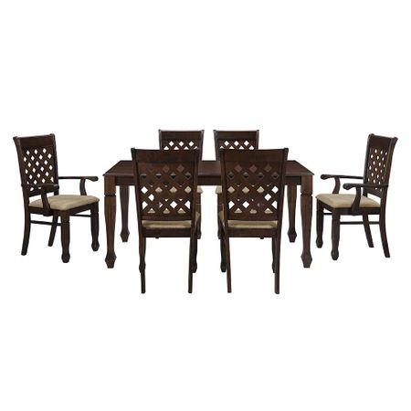 comedor-innova-mobel-modelo-lexus-4-sillas-2-sitiales-nogal-oscuro