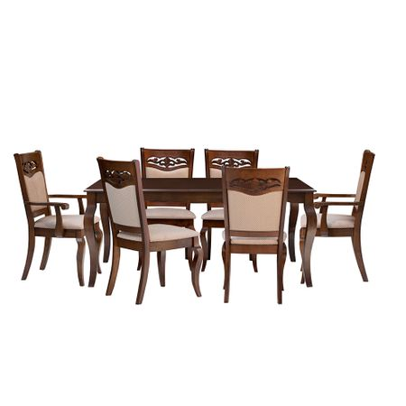 juego-de-comedor-universal-toscana-4-sillas-2-sitiales-chocolate