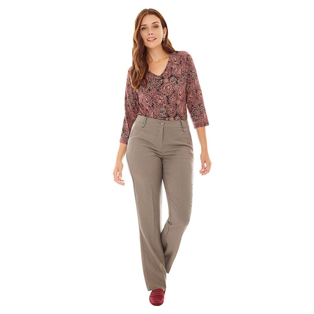 36bfdd558 Pantalon de Vestir Gris Mujer - Corona