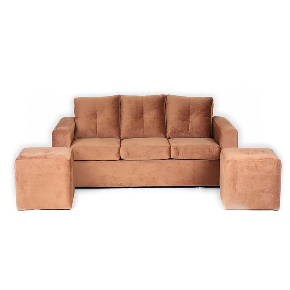 sofa-muebles-america-fortunato-3-cuerpos-2-pouf-felpa-tostado