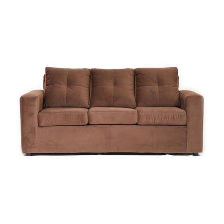 sofa-muebles-america-fortunato-3-cuerpos-felpa-cafe