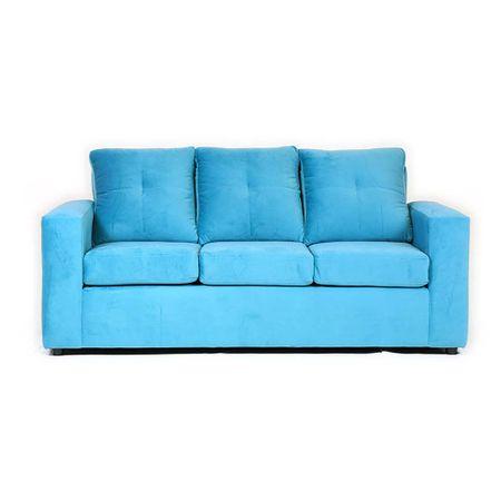 sofa-muebles-america-fortunato-3-cuerpos-felpa-turquesa