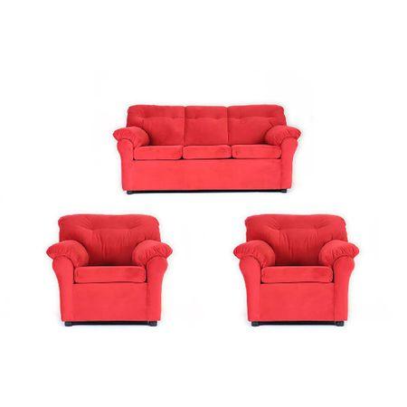 juego-de-living-muebles-america-3-1-1-felpa-rojo