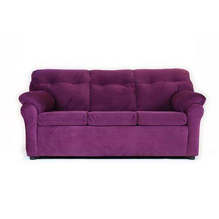 sofa-muebles-america-3-cuerpos-felpa-lila