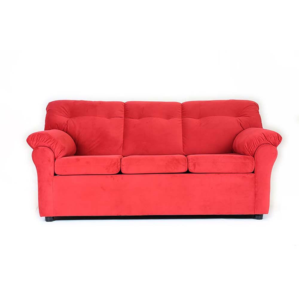 sofa-muebles-america-3-cuerpos-felpa-rojo