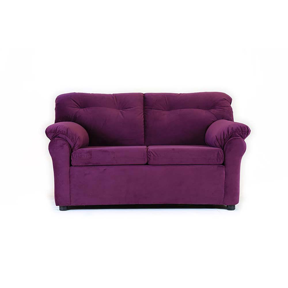 sofa-muebles-america-2-cuerpos-felpa-lila