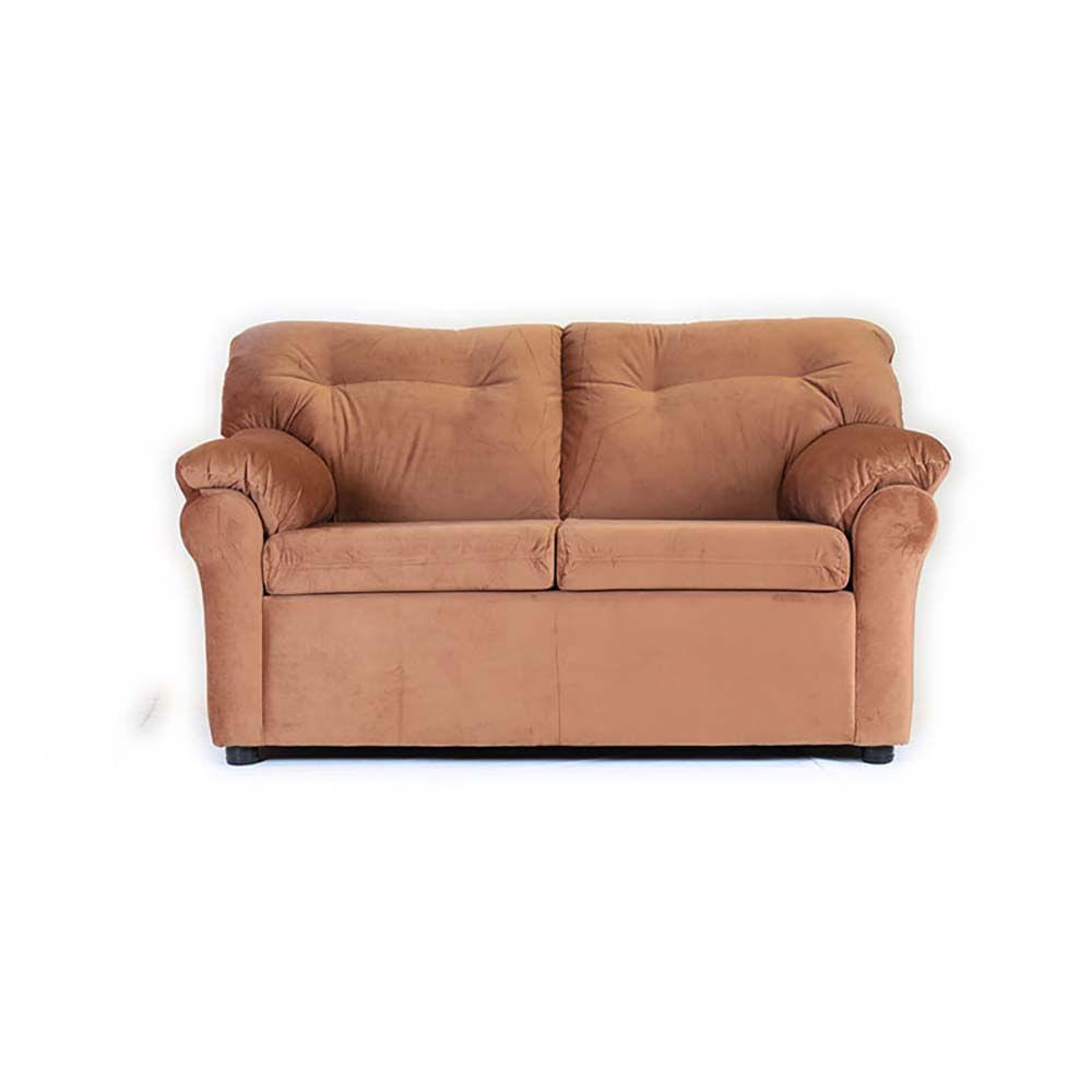 sofa-muebles-america-2-cuerpos-felpa-tostado
