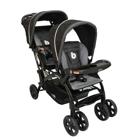 coche-doble-b-twin-rs-13225-negrogris