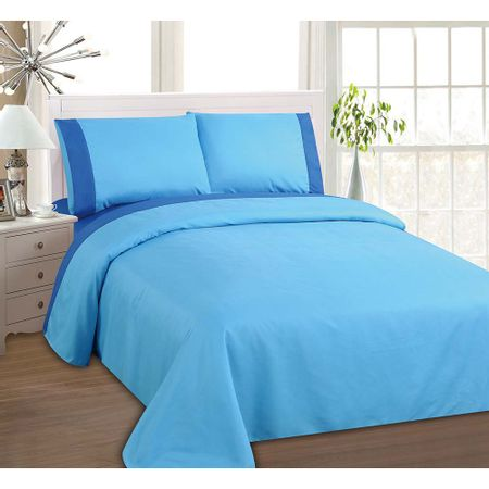 sabana-lisa-bicolor-2p-azul