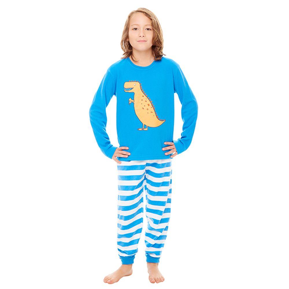 18e224c8a Pijama Polar Niño Celeste - Corona