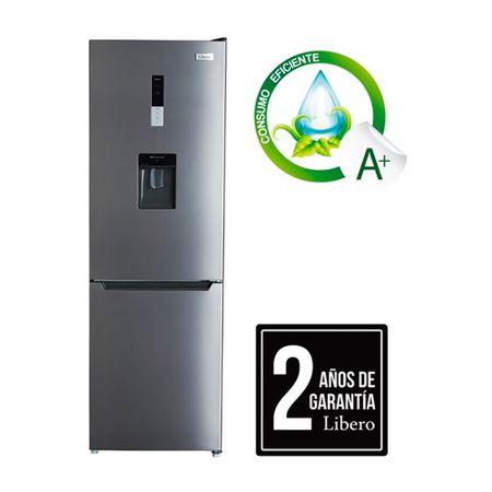 refrigerador-no-frost-libero-315-litros-con-dispensador-de-agua-inox-lrb-340nfiw