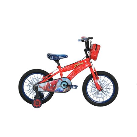 bicicleta-lahsen-mtb-aro-16-nino-spiderman-color-rojo-0104ie001619borjaz