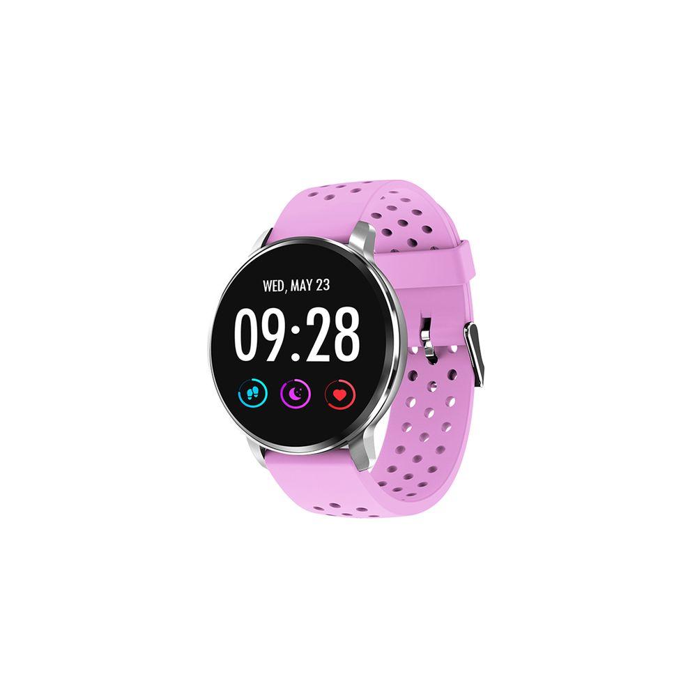 reloj-deportivo-inteligente-pulsometro-bluetooth-sw60-morado-smart-watch