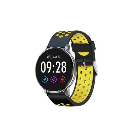 reloj-deportivo-inteligente-pulsometro-bluetooth-sw60-amarillo-smart-watch