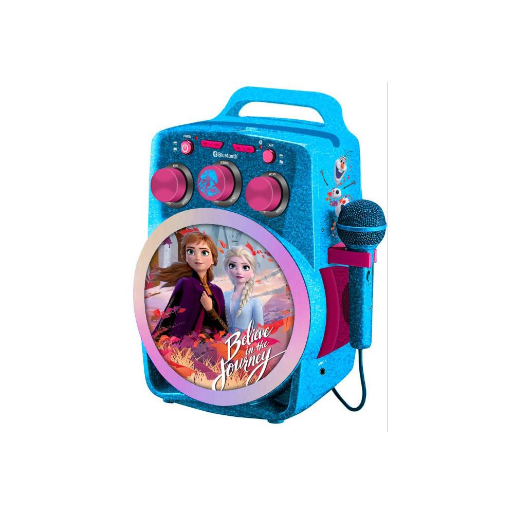 parlante-karaoke-frozen-disney