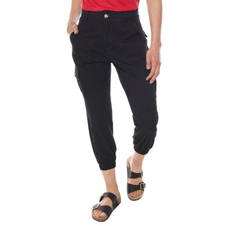 Pantalon Cargo Mujer Corona