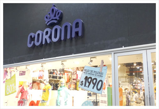 CORONA MALL VIVO OUTLET VIÑA DEL MAR 6c9ada336176d